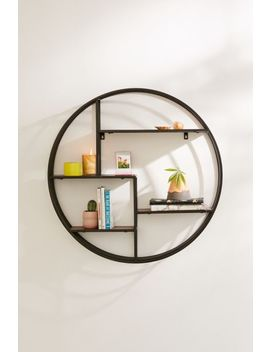 Shelly Round Metal Wall Shelf by Urban Outfitters