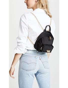 eartha-iconic-micro-chain-backpack by zac-zac-posen