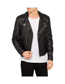 Leather Biker Jacket by Ps By Paul Smith
