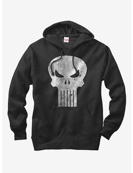 Marvel Punisher Skull Symbol Hoodie by Hot Topic