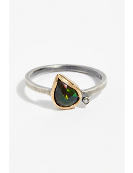Black Opal Diamond Ring by Free People