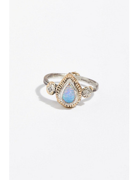 14k Free Rain Diamond Ring by Free People