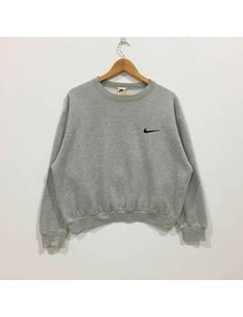 Rare !!! Nike Small Logo Sweatshirt by Parkdowshop