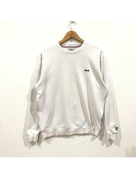Rare !!! Fila Intimo Small Logo Sweatshirt by Parkdowshop