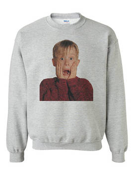Home Alone Kevin Sweatshirt Unisex by Kinoko Carnival