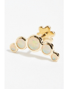 Five Opal Garland Threaded Stud Single Earring by Free People