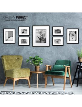Pinnacle Gallery Perfect 7 Piece Frame Kit by Gallery Solutions