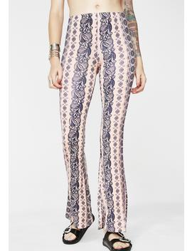 Sweet Haze Printed Pants by Better Be