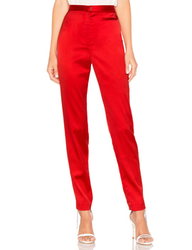 High Waist Skinny Pant by Milly