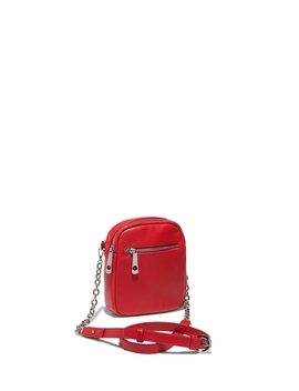 Red Chain Belt Bag by Cue