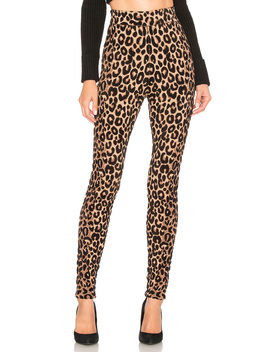 Textured Cheetah Knit Legging by Milly