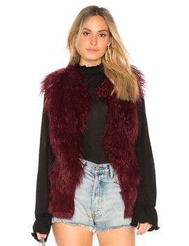 Faux Fur Vest by Doma