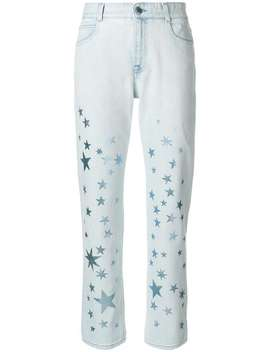 Star Printed Jeans by Stella Mc Cartney