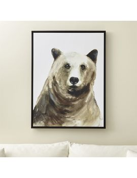 Bear Print by Crate&Barrel