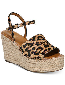 Tula Platform Espadrille Wedge Sandals by Franco Sarto