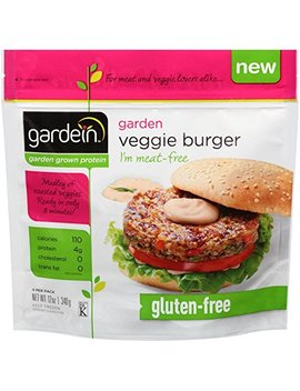 Gardein Veggie Burger, 12 Ounce   8 Per Case. by Gardein