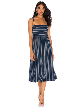 Twist Back Midi Dress by Bcbgmaxazria
