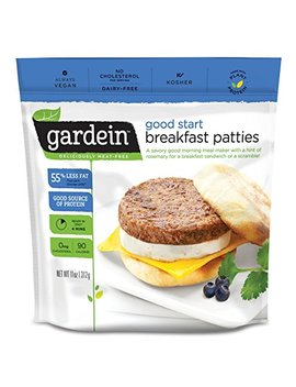 Gardein Good Start Meatless Breakfast Patties, Meatless Protein Packed Patties, 6 Count (Frozen) by Gardein