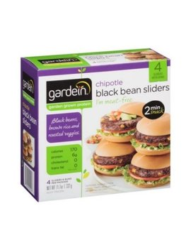 Gardein Chipotle Black Bean Sliders, 11.7 Ounce   6 Per Case. by Gardein
