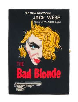 The Bad Blonde Book Clutch by Olympia Le Tan