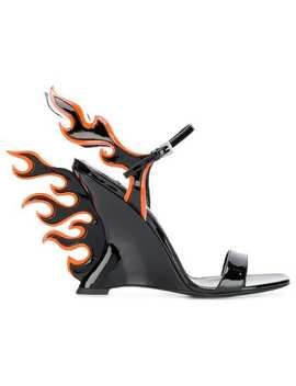 Flame Sandals by Prada
