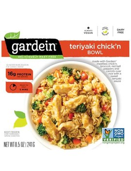 Gardein™ Teriyaki Chick'n Bowl Frozen Entree 8.5 Oz. Box by Gardein