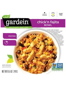 Gardein™ Chick'n Fajita Bowl Frozen Entree 8.5 Oz. Box by Gardein