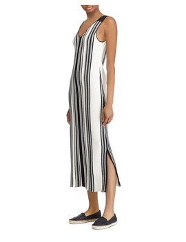 Sleeveless Striped Dress by Lauren Ralph Lauren
