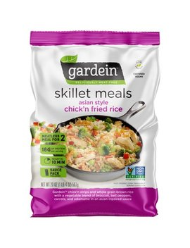 Gardein™ Asian Style Chick'n Fried Rice Deliciously Meat Free Skillet Meals 20 Oz. Bag by Gardein