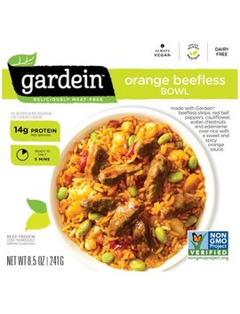 Gardein™ Orange Beefless Bowl Frozen Entree 8.5 Oz Box by Gardein