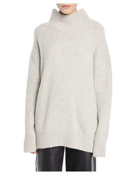 Oversized Turtleneck Cashmere Sweater by Vince