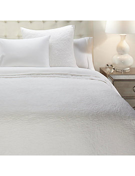 Elena Bedding   White by Z Gallerie