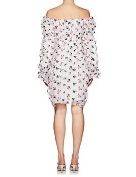 embroidered-organza-midi-dress by jourden