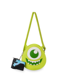 Mike Wazowski Crossbody Bag By Loungefly by Disney