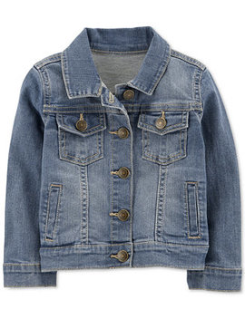Baby Girl Denim Jacket by Carter's