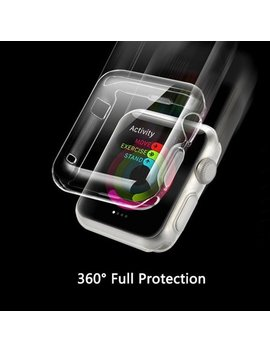 Apple Watch I Watch Series 1   38 Mm Clear Case Premium Crystal Clear Tpu Full Case Amazing For Less by Amazing For Less
