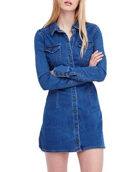 Dynomite In Denim Minidress by Free People