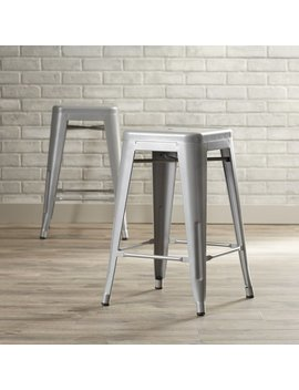 "Trent Austin Design Delavan 24"" Bar Stool & Reviews by Trent Austin Design"