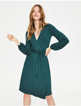Elodie Jersey Wrap Dress by Boden