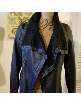Faux Leather Jacket by Jennifer Lopez