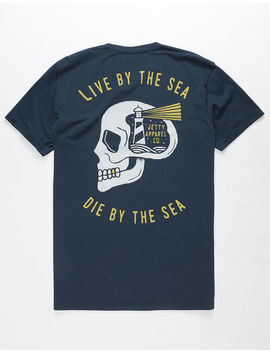 Jetty Skull House Mens T Shirt by Jetty