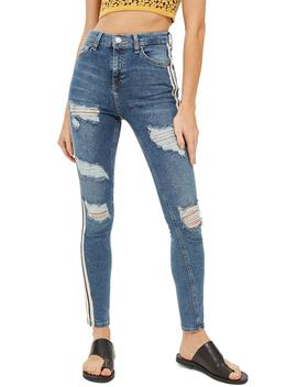 Side Stripe Jeans by Topshop