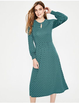 Eliza Jersey Midi Dress by Boden