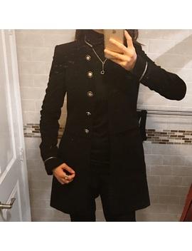 ⭐️mandarin Collar Coat by Zara