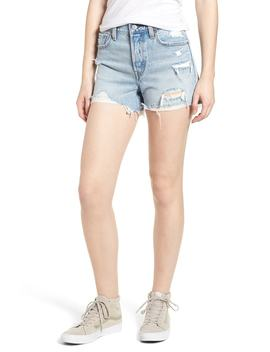 Wedgie Update High Waist Cutoff Denim Shorts by Levi's®
