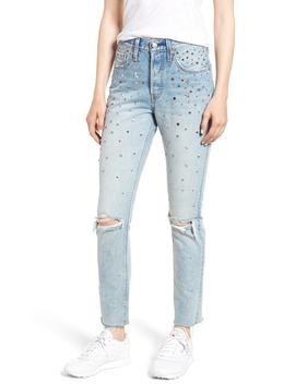 501® High Waist Ripped Skinny Jeans by Levi's®