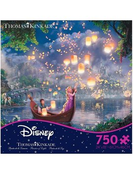 750 Pc Thomas Kinkade Disney Tangled by Ceaco