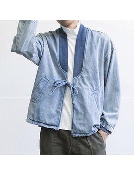 Denim Kimono Jacket by Gili