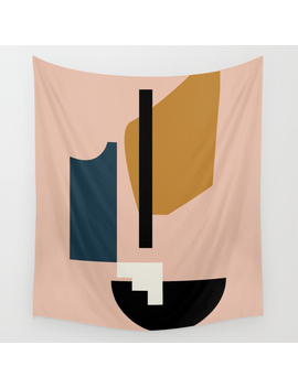 Shape Study #2   Lola Collection Wall Tapestry by