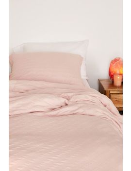 Puckered Jersey Duvet Cover by Urban Outfitters